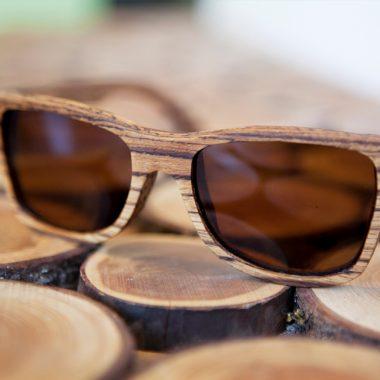 Rakau Óculos de Madeira